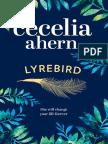 LYREBIRD by Cecelia Ahern - Extract
