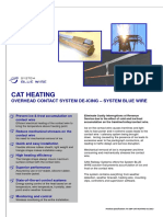 OVERHEAD CONTACT SYSTEM DE-ICING – SYSTEM BLUE WIRE