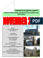 Parish Information Newsletter (PINS) November 2016