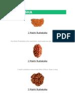 Rudraksha Benefits