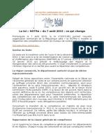 15 09 14 Presentation Loi NOTRe