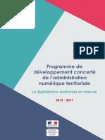 Programme Dcant 2015 2017
