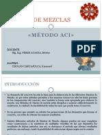 Diseño de Mezclas Aci - Con Aditivo