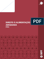 Direito à Alimentação Adequada Mpf Pfdc