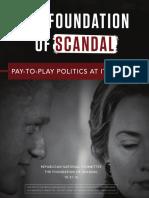 Foundation of Scandal