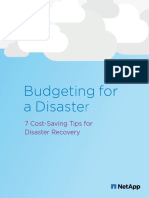 Seven Cost Saving Tips for Disaster Recovery