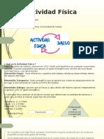Sebas y sergio Diapositivas Actividad Fisica