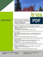Neuerwerbungsliste BGS-Bibliothek2016