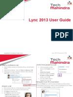 Lync 2013 User Guide IM and Audio