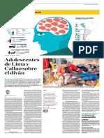 Adolescentes de Lima y Callao Sobre El Diván