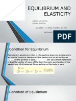 Equilibrium and Elasticity Bab 11