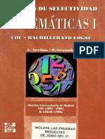 Pruebas de Selectividad Matematicas1