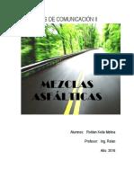 Mezclas Asfalticas - Keila Roldan