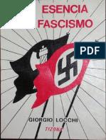 La Esencia Del Fascismo