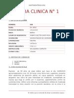 Historia Clinica n1