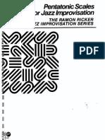 Ramon Ricker -Pentatonic Scales for Jazz improvisation.pdf