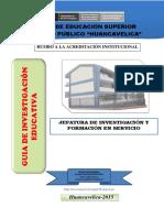 Anexo 1 Guía de Investigación 2015