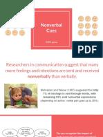 nonverbal cues wk11  1
