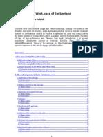 English - Muslims in the West, Case of Switzerland (Written) 2007