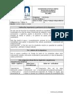 Syllabus Trabajo de Grado III Codigo 30572060