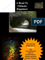 A Road to Ultimate Happiness