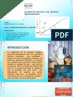 Límites de Detección y Cuantificación