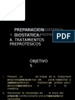 6.- Preparacion Biostatica- Tratamientos Preprotesicos
