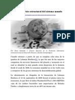Ante Una Crisis Estructural Del Sistema Mundo