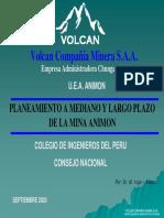 Plane. Mediano y Largo Plazo -Animon