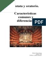 Cantata y Oratorio