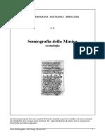 Semiografia Della Musica