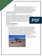 Rocas Sedimentarias, Ígneas y Metamorficas