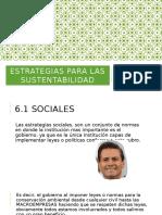 Estrategias Para Las Sustentabilidad U6