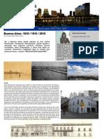 ArquiNoticias N° 1 nota 2 Buenos Aires 1810  1910  2010