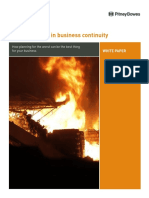 White Paper Best Practices in Business Continuity 2011