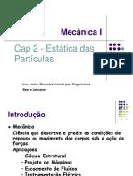 Estatica Das Particulas CAP 2