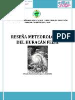 Datos de Precipitacion Huracan Felix