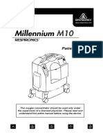 Respironics Millennium M10 - User Manual