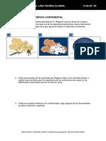 Ficha 4 Tema 2 Wegener y La Deriva Continental