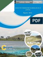 Boletin hidrometeorologico agosto 2016 Senamhi Puno