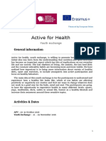 Active for Healthy e Info Pack
