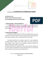 Elcultivo de La Alcachofa en El Mediterraneo Español. Ing.