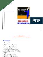 Fundamentos Ergonomicos Ppt