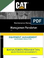 Management Peralatan (Int Course)