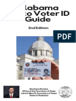 Alabama Photo Voter ID Guide
