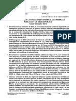 Boletín Finanzas Públicas SHCP