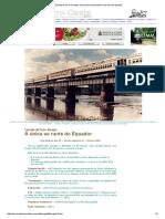 Estrada de Ferro Amapá _ a Única Ferrovia Brasileira Ao Norte Do Equador