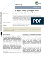 Survey of Green Building Water Systems Reveals