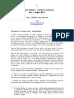 French - Le Statut Du Foetus Chez Les Musulmans 1998