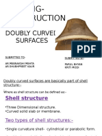 DOUBLY Curved Surfaces